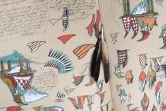 Sketchbook detail, Caoimhghin O'Fraithile